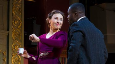 Anton Checkhov's Cherry Orchard being performed at Bristol Old Vic until the 7th of April. Kirsty Bushell and Jude Owusu lead the cast in Checkhov's final play directed by Michael Boyd and set designed by Tom Piper (designer of the poppy installation at the Tower of London in 2014). 1 March 2018